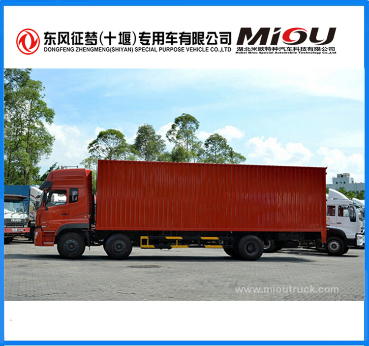 21ton 6*2 DongFeng 5180 container van truck for sale