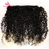 "100% Unprocessed Can Be Colored Human Hair Raw Virgin Burmese Curly Hair 10""-26"" Virgin Curly Human Hair Extensions"