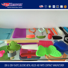 China Silicone Products Manufacturer Supply Customized Silicone Accessories Part Molds Making
