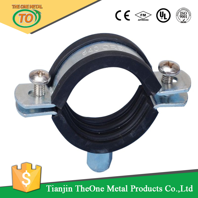 best price heavy duty saddle clamps for steel pipe clamps