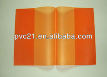 Nice design pvc book cover and pvc paper file folder cover