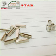 Zipper insertion pin and box for open end zippers