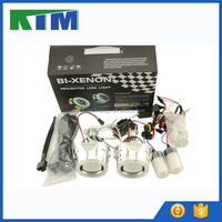KIM Universal conversion bifocal lens LED angel eyes headlights rings HID xenon lamp kit can be equipped with light bars T-261 F