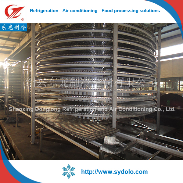 Freezing fish equipment/Seafood freezer/Food production line