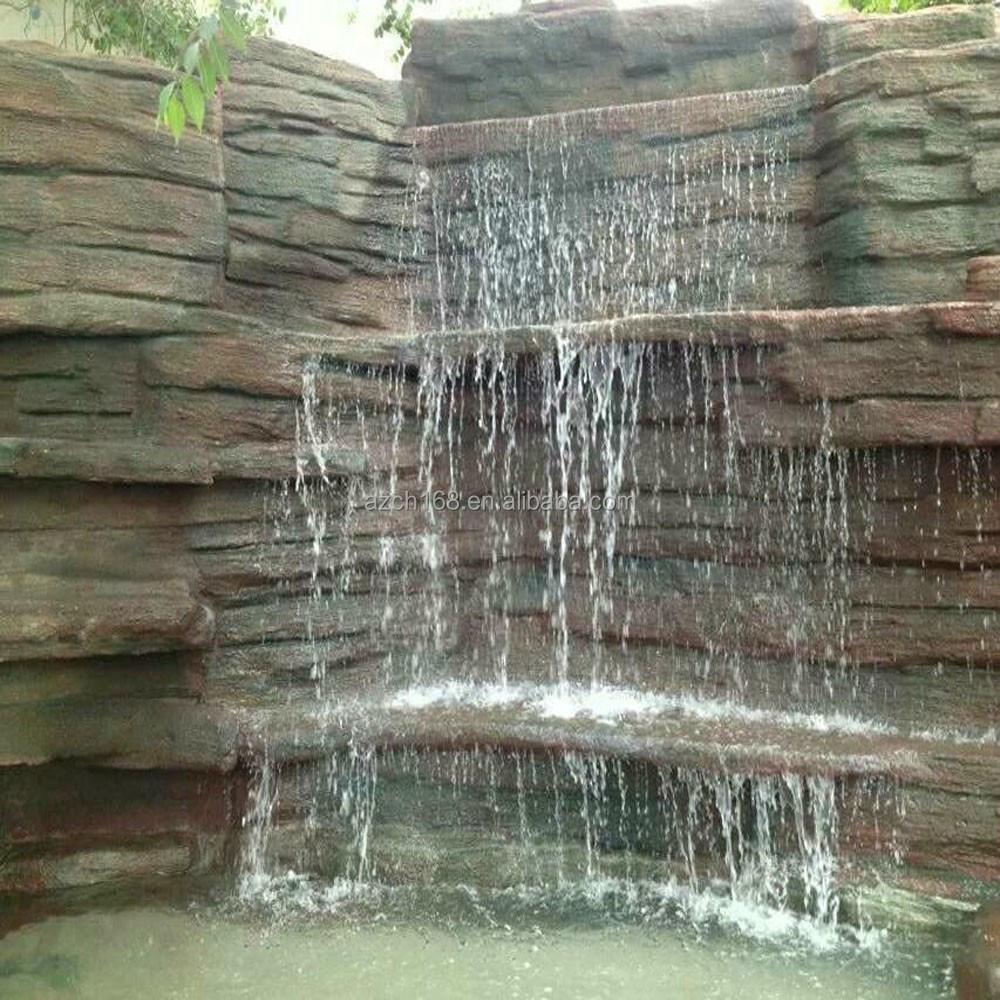 parc public ou jardin fontaine d 39 eau des cascades artificielles produits en pierre jardin id de. Black Bedroom Furniture Sets. Home Design Ideas