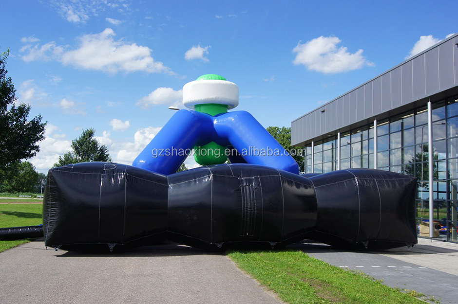 Portable inflatable laser tag arena for sale