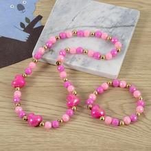 latest fashion perfect design children necklace acrylic jewelry set