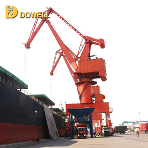 High cost performance lifting harbour portal crane