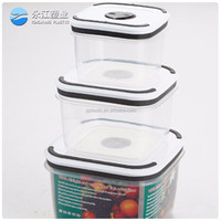 wholesale take away container plastic food box metal pet food storage containers plastic airtight pet food container