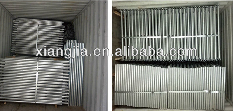 Steel bs1139 door Frame/h type frame scaffolding for sale