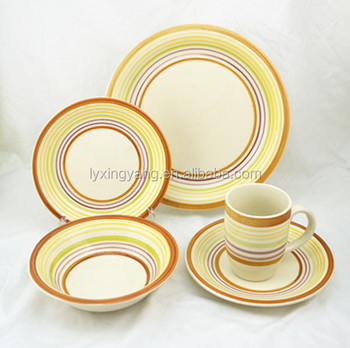 stoneware cooking set, dinnerware set stoneware