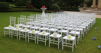 cheap plastic MONOBLOC chiavari tiffany chair/Europe popular wedding chair
