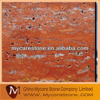 WT005 red travertine