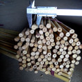 10~12mm * 120cm Dried Tonkin Bamboo Sticks