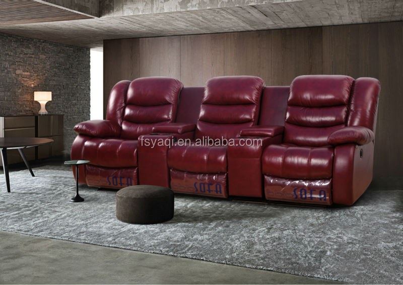 Modern design luxury living room home theater lazy boy recliner chair 630
