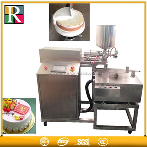 High quality automatic cream daubing machines mear Cake Decorating Machines scribble machine