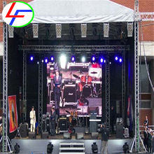display 3d wall price indoor full color / lights led screen rental p5 p6 outdoor video panel