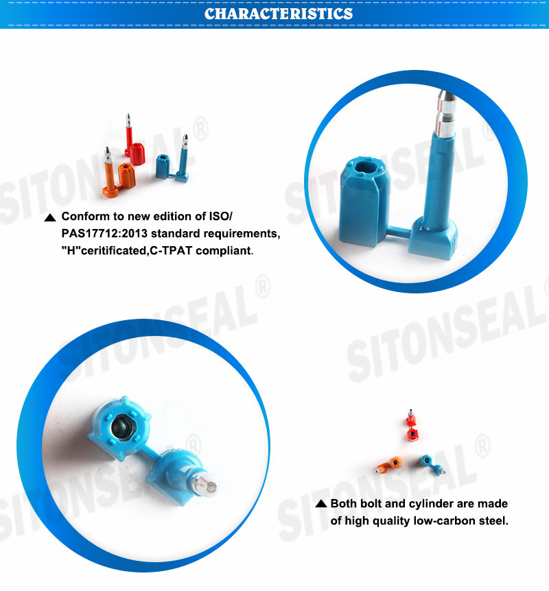 ST-1107 Professional Manufacture Anti Spin Container Seal