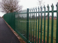 Special hot selling cold rolled palisade fence
