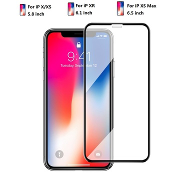 3D full Glue Tempered Glass Screen Protector For iPhone XS/XR/XS Max