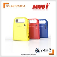 MUST Hot sales Portable 3W Professional 3W Portable mini solar system with mobile charger