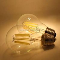 EMC LVD ac230v a60 a19 filament bulbs led