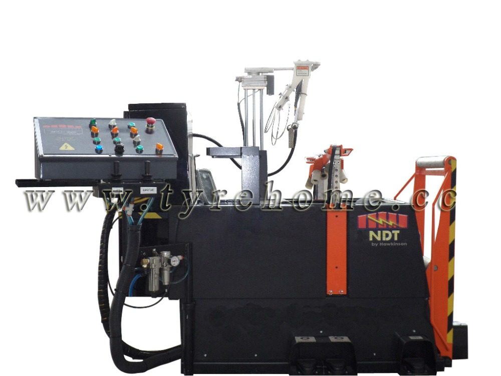 NDT/Tire retreading machine