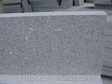 Chinese light Grey Granite G341 flamed tiles and slabs