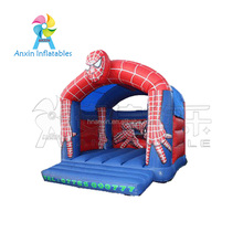 Cheap Factory Price Spectacular Spiderman Inflatable Bouncy Castle For Sale