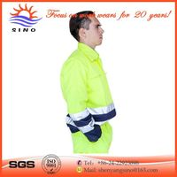 Factory wholesale high visible super cheap bright yellow safety jackets