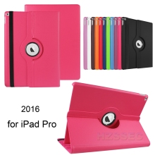 360 multi-angle Stand Fashion tablet cases rotate 360 degree leather cover for iPad Pro 12.9