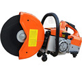Portable 350mm asphalt handheld concrete cutter by gasoline engine