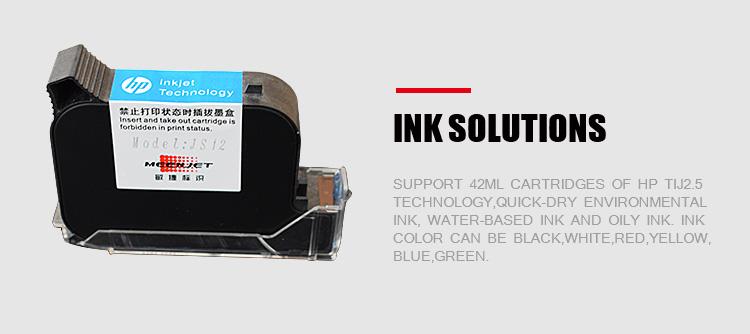TIJ портативный струйный принтер производство оптовых продаж на рынке Индии, струйный принтер