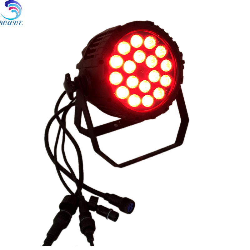 18*10w Rgbw 4 In 1 Stage Show Waterproof Ip65 Led Par Outdoor Light