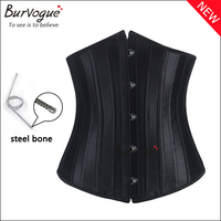 Women body shapers stock supply strapless steel boned body control corselet body slimming corset for women wholesale