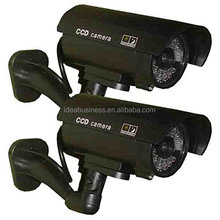 Battery Operated Outdoor Wireless Dummy Security Camera,dummy cctv camera,security dummy camera