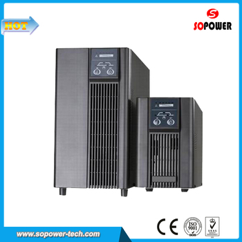 High Frequecy Pure Sine Wave Online UPS 3KVA 96VDC 230VAC with Battery Backup