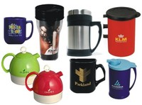 PLASTIC, CERAMIC & THERMAL MUGS