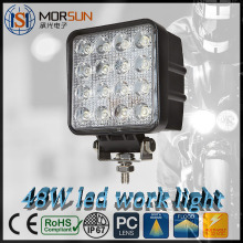 48W auto led working light LED Work Light, Automobile Square 48w led work light For car/motorcycles/jeep, SUv