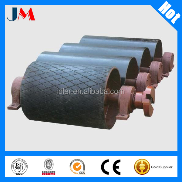 Carbon Steel/Rubber Lagging Motor Drive Pulley