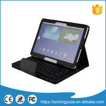 Professional pu tablet case with bluetooth keyboard