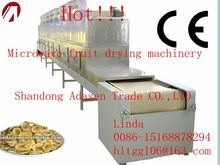 High quality cnveyor belt microwave banana chips drying/dryer/roasting machine