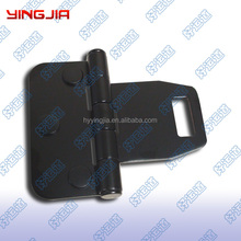 Truck body lashing rings/steel door hinges, Truck handle lock