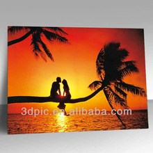 Wholesale lenticular lens sheet 3d picture of beautiful scenery