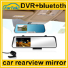 hands free automatic Car Rearview Mirror DVR with bluetooth HD 4.7""