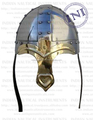 VIKING NASAL HELMET ,Viking helmet with horns , Viking horned helmets