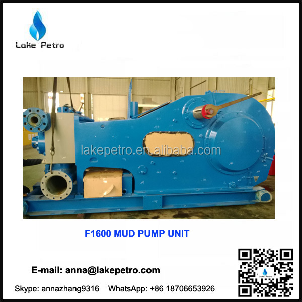 F1600 mud pump unit/ package with high quality DC motor