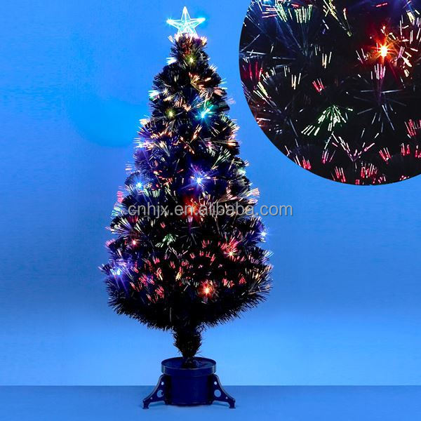 Firework Multi-colors Shiny Christmas Tree Ornament, Customized Christmas Tree