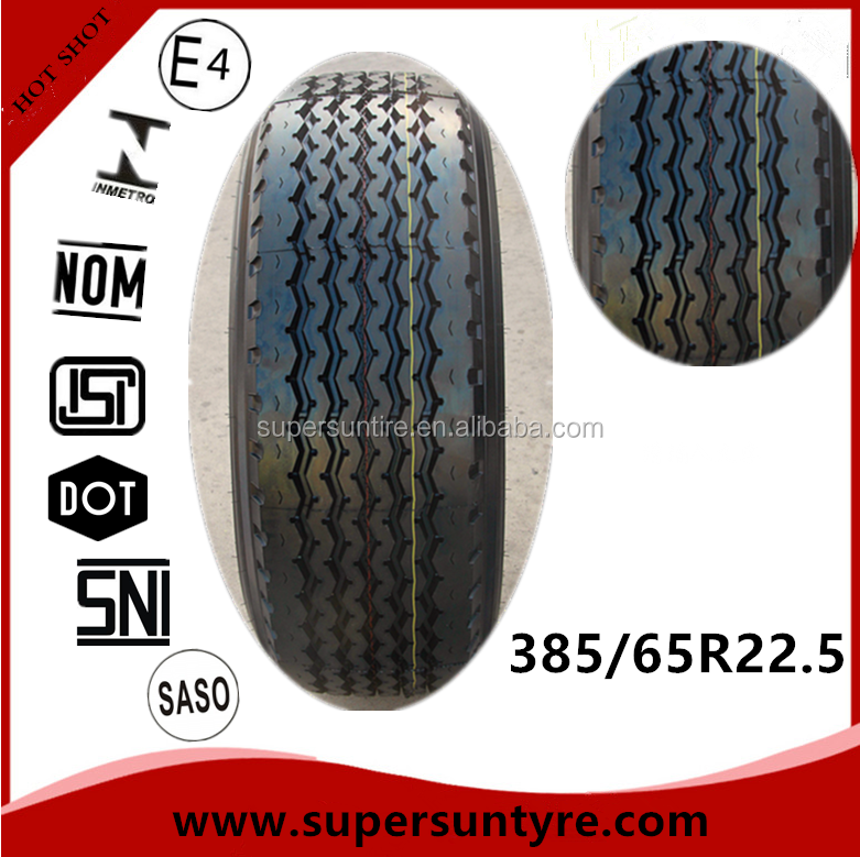 China tire factory radial heavy duty truck tyre 385 65 r 22.5 385/65r22.5
