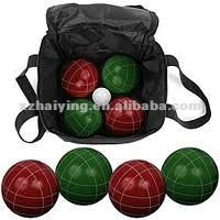 2012 Newest design poly resin croquet
